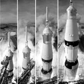 Apollo 11 launch sm bw